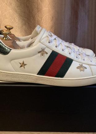 Кеды кроссовки Gucci Ace