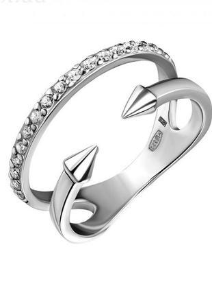 Кольцо серебро 925 на фалангу юм 10445