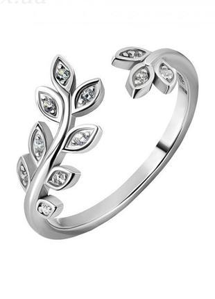 Кольцо серебро 925 на фалангу юм 10435