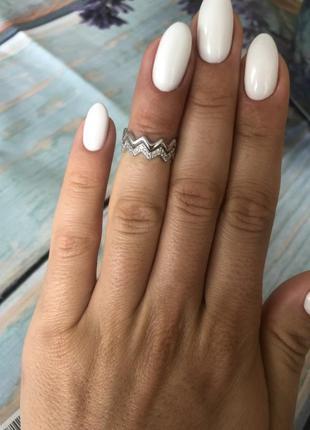 Кольцо серебро 925 на фалангу юм 10432