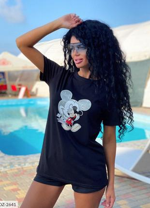Женская футболка Микки!