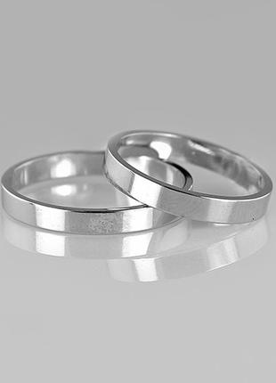 Кольцо серебро 925 обручальное американка юм10701 пр