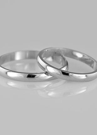 Кольцо серебро 925 обручальное юм10700