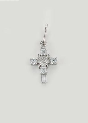Крестик серебро 925 крест юм30044