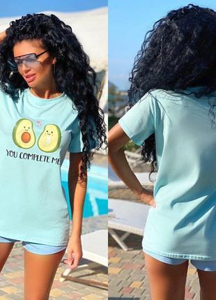 Женская футболка Авокадо!