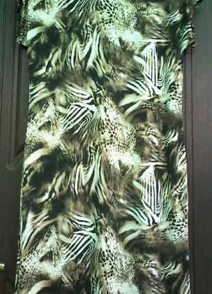 Летнее платье , ткань микромасло,  р. 50-52