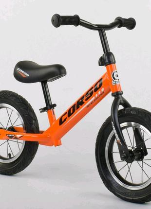 Велобег Corso беговел надувные колеса