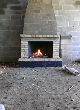 Кладка и ремонт печей, каминов, мангалов