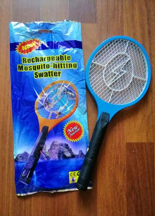 Электрическая мухобойка, мошка, москитка, комары