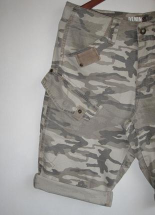Камуфляжные шорты denim co