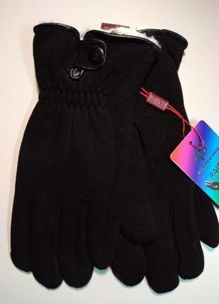 Перчатки стрейчевые на меху зима размеры разные