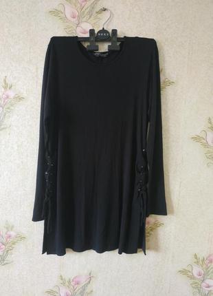 Чёрная женская кофта # вискозная кофта # dorothy perkins