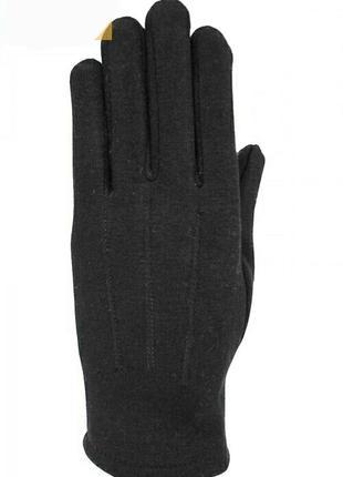 Стрейчевые перчатки перчатки  на меху унисекс