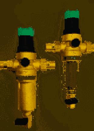 Самопромывные фильтры для воды с редукторами Honeywell BWT