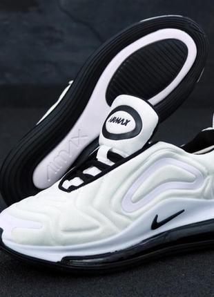 Мужские белые кроссовки найк nike air max 720 white.