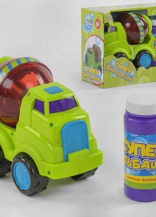 Машинка с мыльными пузырями 75348 (24) TK Group, на батарейках