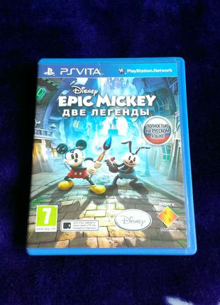 Disney Epic Mickey Две Легенды (русский язык) для PS Vita