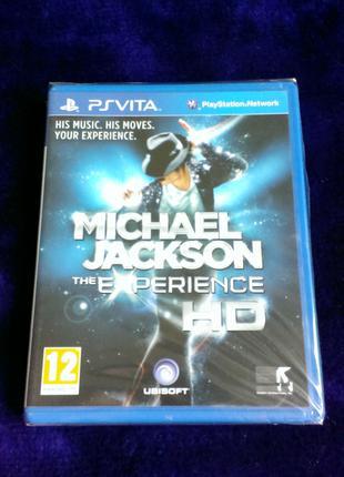 Michael Jackson: The Experience HD (новый в пленке) для PS Vita