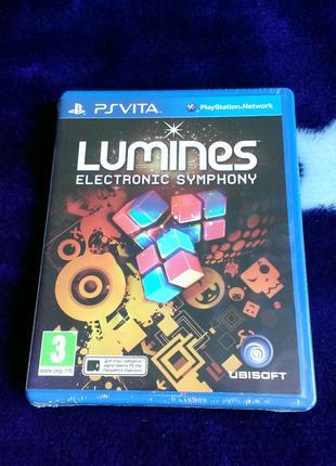 Lumines Electronic Symphony (новый в пленке) для PS Vita