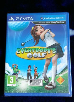 Everybody's Golf (новый в пленке) для PS Vita