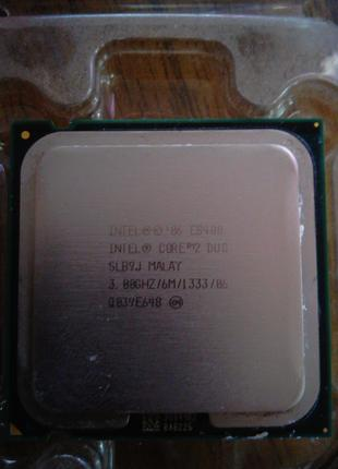 Процессор Intel Core 2 Duo e8400 3.00 Ghz + Охлаждение