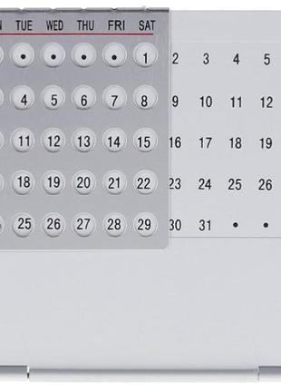 Уникальный 100-летний календарь металлический из алюминиевого ...