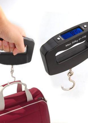 Весы ручные кантер электронные до 50 кг