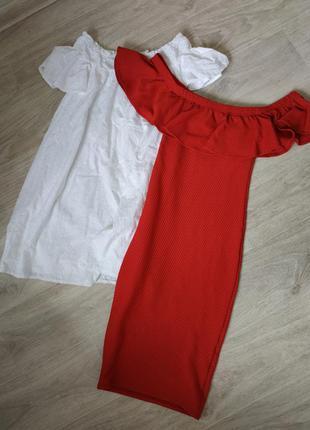 Шикарный сарафан с открытыми плечами , модный сарафан , платье