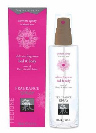 Спрей для женщин, с феромонами и афродизиаками - HOT Fragrance