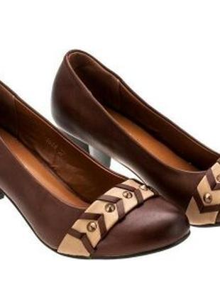 Туфли на каблучках от тм enrico fantini.