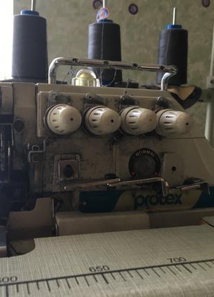 Промышленный высокоскоростной пяти-ниточный оверлок Protex TY-757