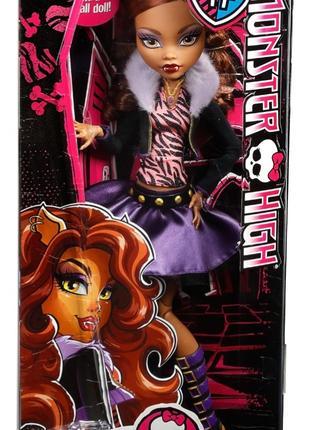 Кукла «Монстер Хай» Базовая Клодин Вульф «Страшно высокие» 42 см