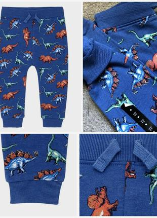 Красивые штанишки для мальчиков от dunnes stores на 1,5-2, 2-3...