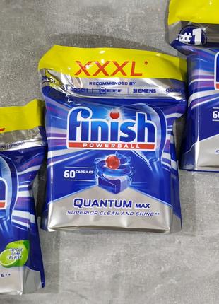 Finish (фініш) Quantum Max 120 таблеток 2-і упаковки