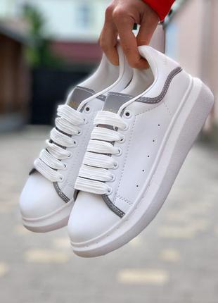 Alexander mcqueen oversized sneakers reflective 🆕 женские крос...