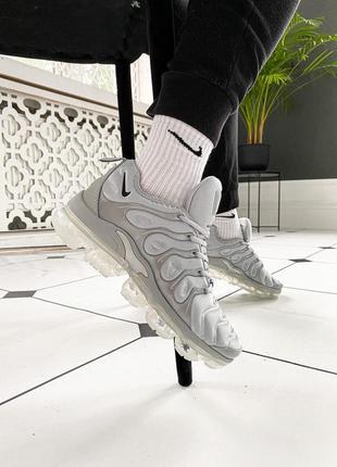 "Nike air vapormax plus ""grey"" 🆕 мужские кроссовки найк 🆕 серый"
