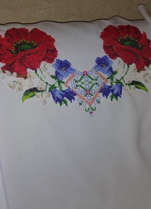 Сорочка блуза вишиванка жіноча вишита не пошита
