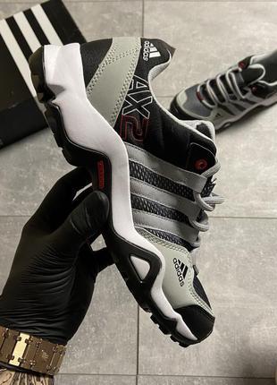 Adidas terrex ax2 gray/black  🆕 мужские кроссовки найк 🆕 серые