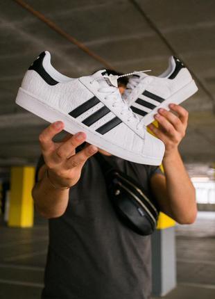 Adidas superstar white/black 🆕 мужские кроссовки адидас 🆕 белы...