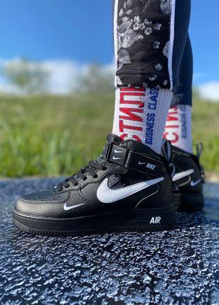 Nike air force black 🆕 мужские кроссовки найк аир форс 🆕 черные