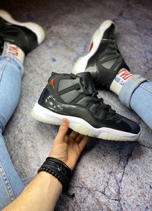 Nike air jordan 🆕 мужские кроссовки найк джордан 🆕 черный/белый