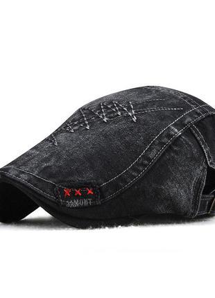 Кепка утка джинсовая