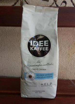 Кофе в зернах Idee Caffe Crema 1 кг Германия