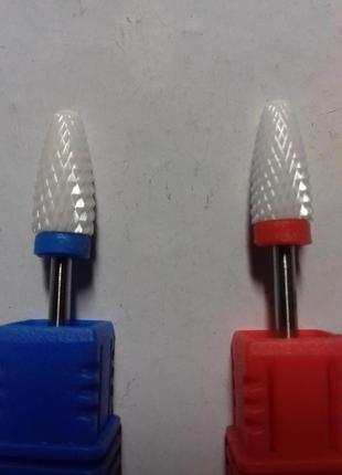 Керамические маникюрные насадки для снятия гель-лака, полигеля.
