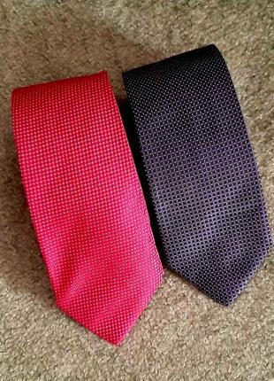 HUGO BOSS галстук шелк