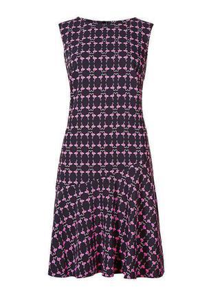 Sale! - в наличии - платье без рукавов в принт-фламинго *m&s* ...