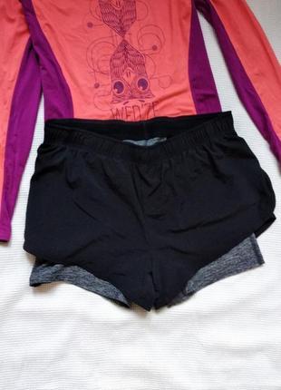 Спортивные беговые фитнес шорты