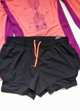 Шорты спортивные беговые ведосипедные фитнес шорты