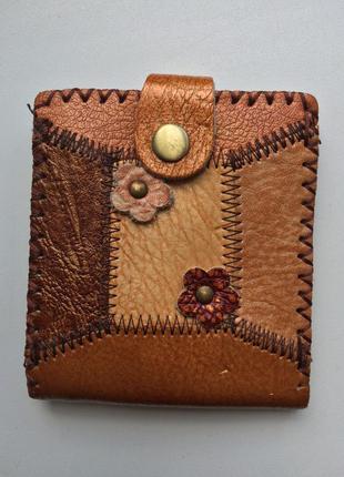 Гаманець шкіряний кожаный кошелек сша