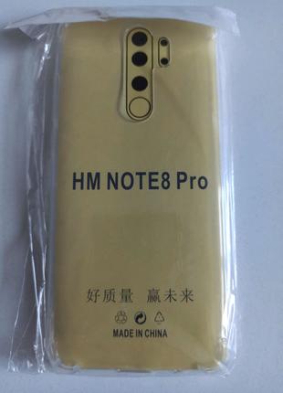 Прозрачный силиконовый чехол для Xiaomi Redmi Note 8 Pro